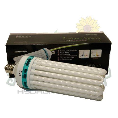 Hydroponics 250w CFL Dual Spectrum grow bulb lighting growing  indoor
